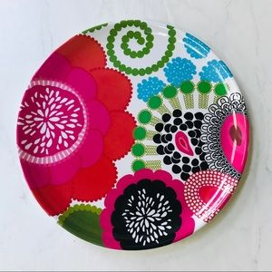 Serving Platter-Round-Colorful-Bohemian Decor NWT